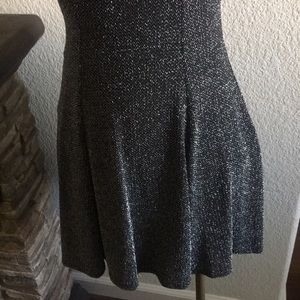 B Jewel Dresses - Beautiful blk and silver sparkly dress.